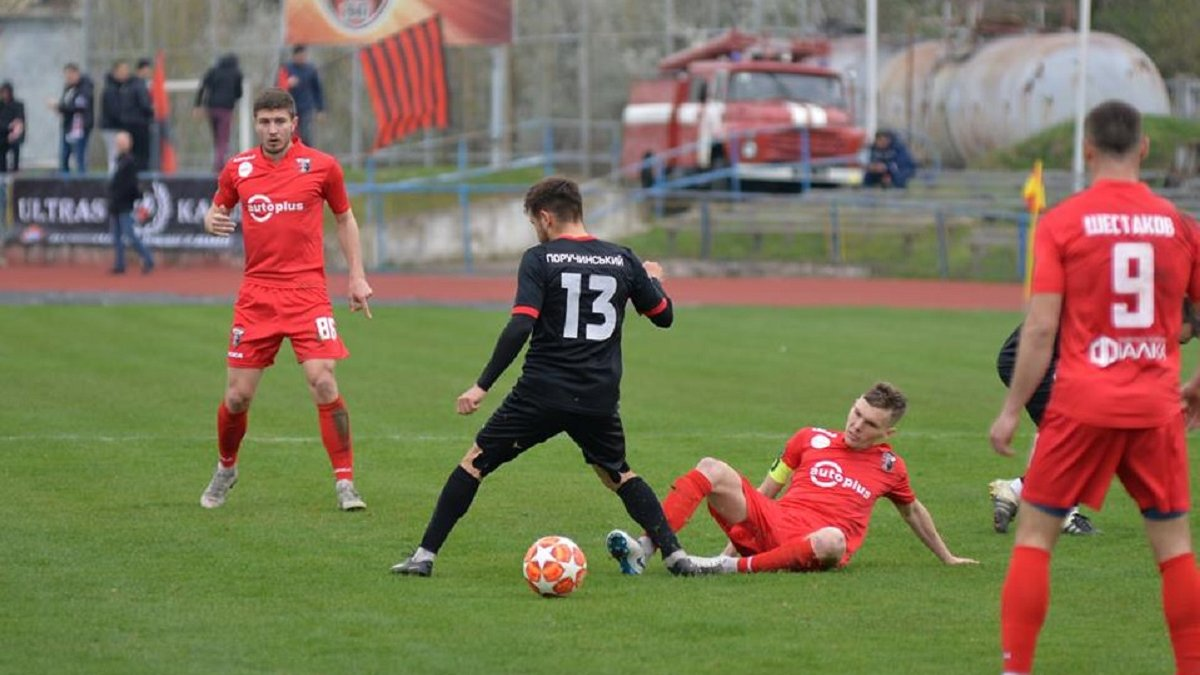 Друга ліга: Калуш переміг Поділля, Верес та Буковина не визначили сильнішого