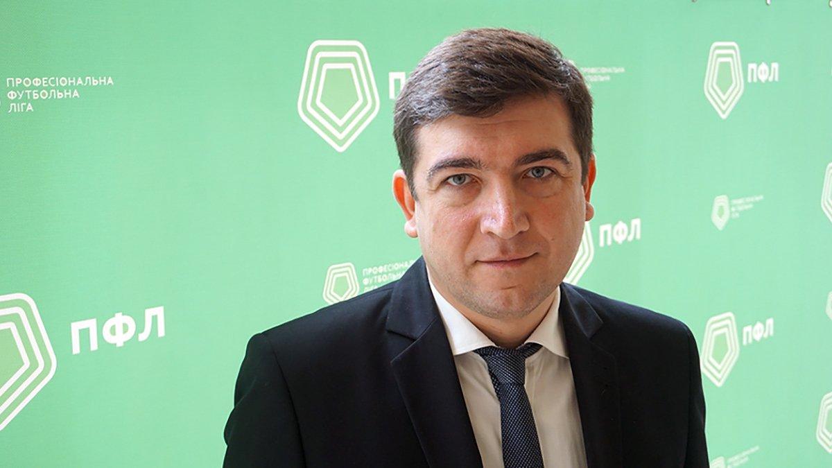 Президент ПФЛ Макаров: Нічого не чув про справу Колоса
