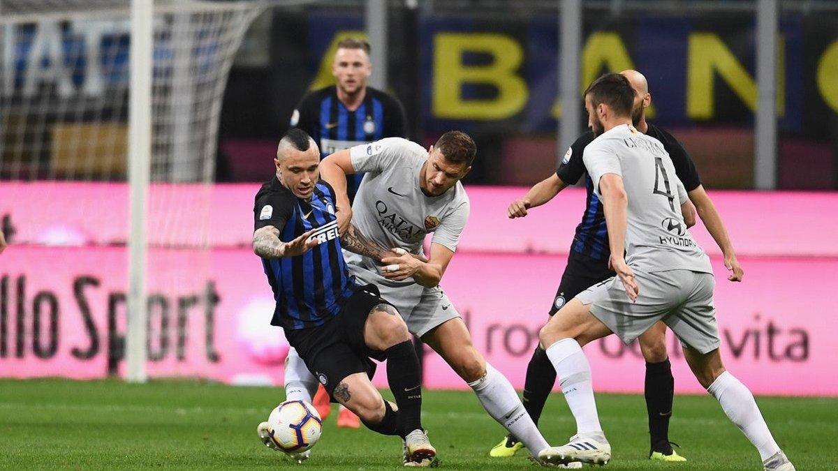 Интер расписал боевую ничью с Ромой, Ювентус в матче с Фиорентиной оформил чемпионство: 33-й тур Серии А, матчи субботы