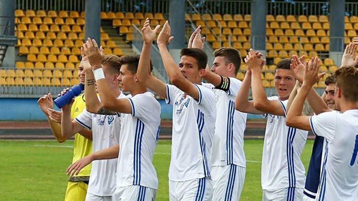 Динамо U-17 вийшло до півфіналу міжнародного турніру