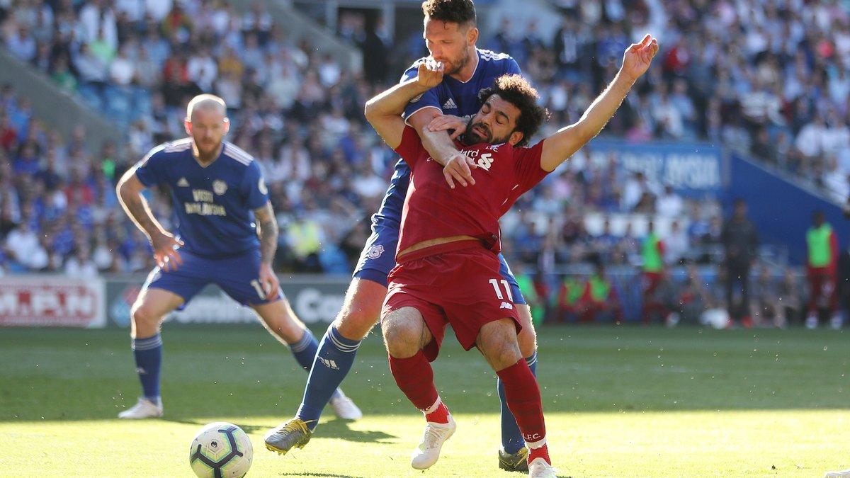 Салах и Милнер едва не устроили конфликт за право исполнить пенальти в матче с Кардиффом