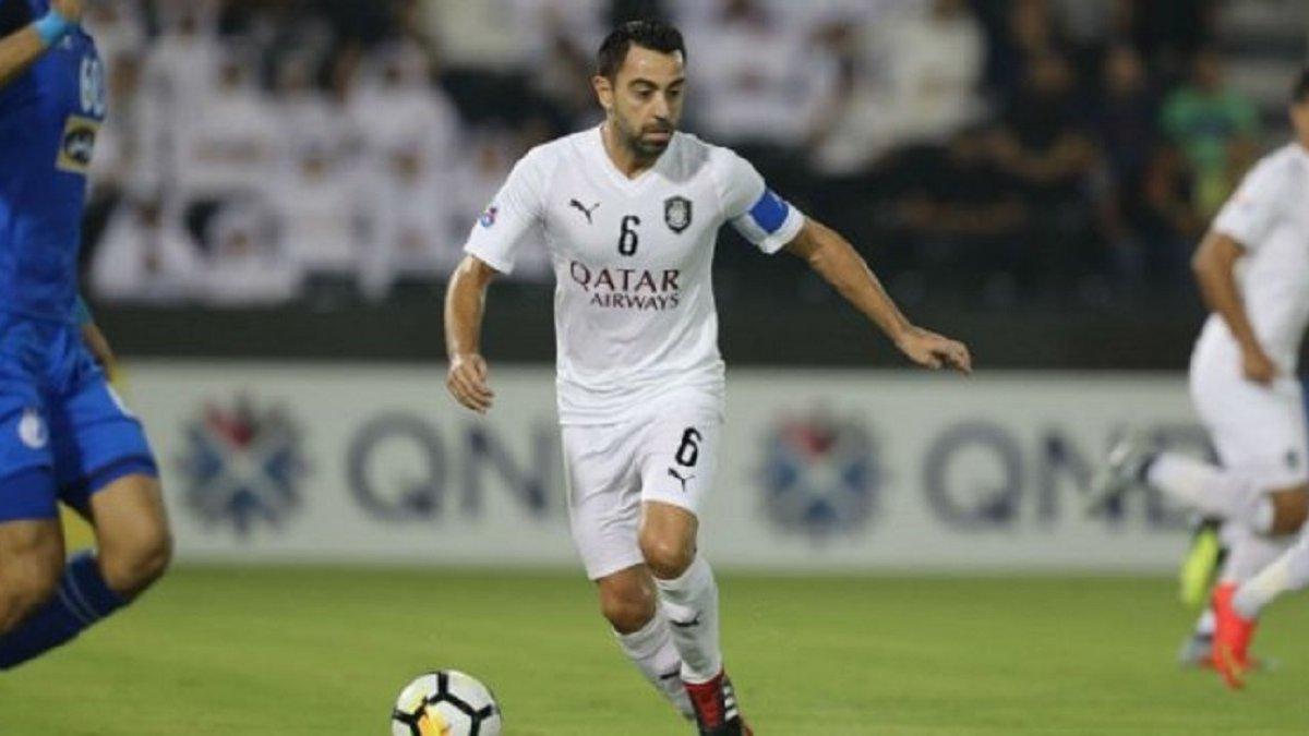 Хави отличился фантастическим голом со штрафного в азиатской Лиге чемпионов
