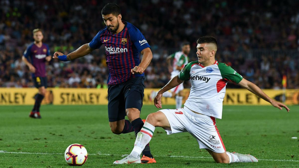 Алавес – Барселона: онлайн-видеотрансляция матча