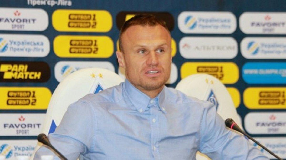 Шевчук планує набратися тренерського досвіду в клубі Серії А, – Бурбас
