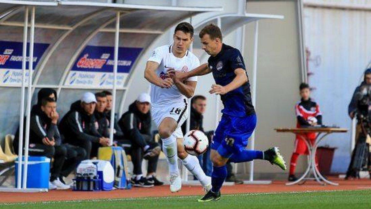 Заря вырвала волевую победу в матче со Львовом и поднялась в зону еврокубков