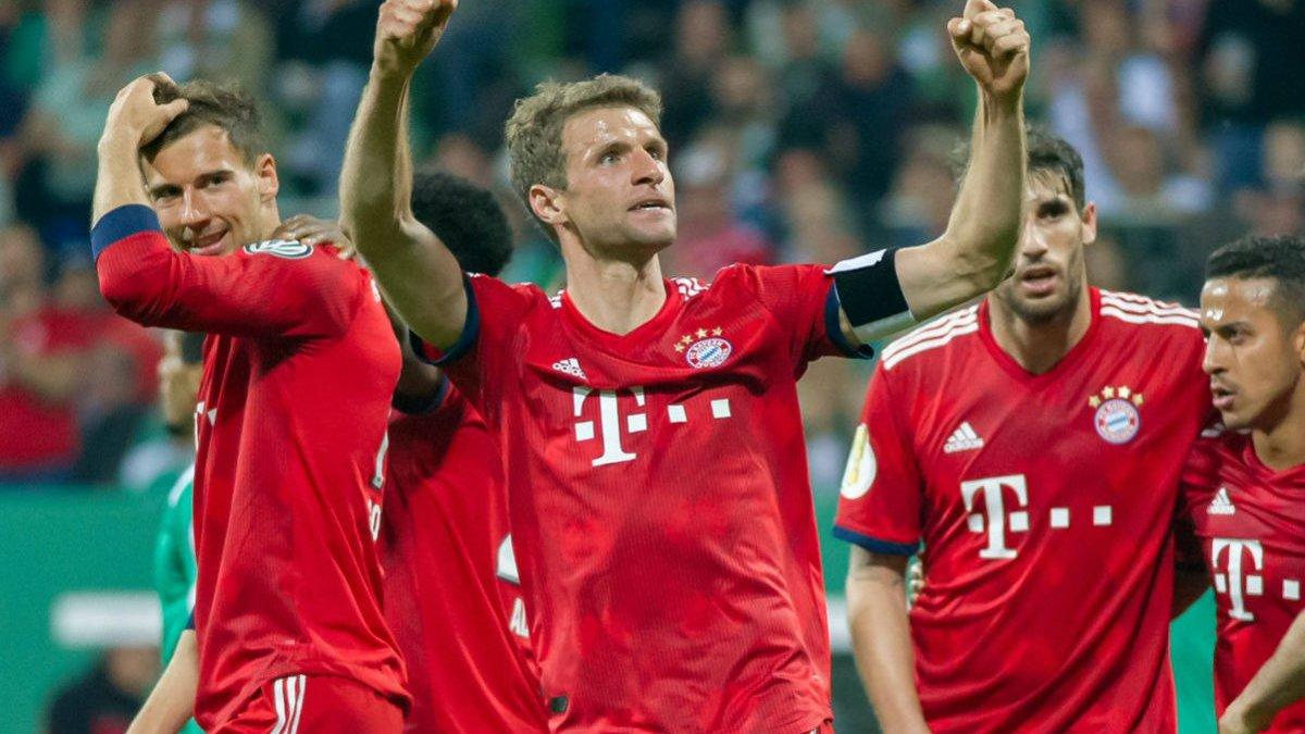 Вердер – Бавария – 2:3 – видео голов и обзор матча