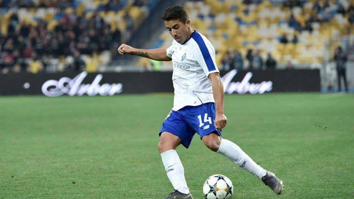 Де Пена оценил свой дебют за Динамо в матче против Шахтера