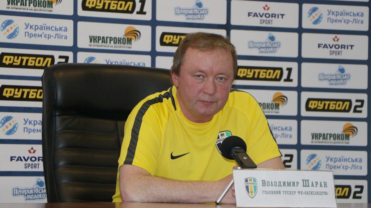 Шаран розчарований низькою відвідуваністю в матчі з Маріуполем