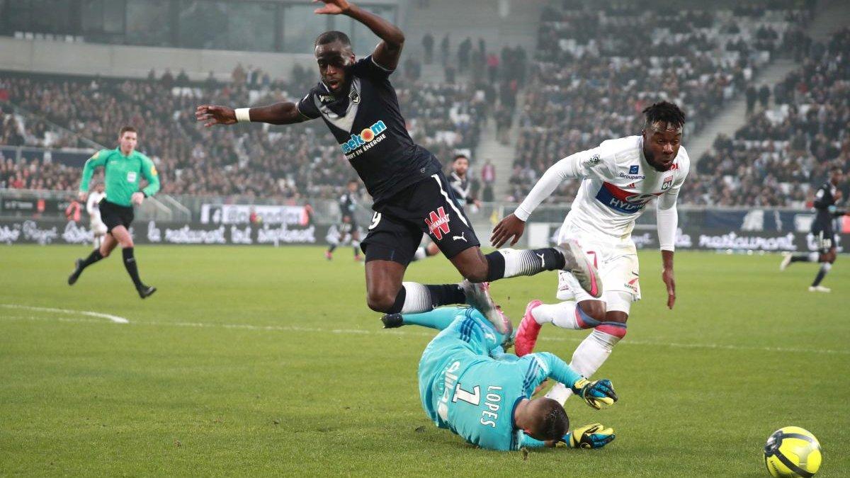 Бордо в меншості не втримав нічию проти Ліона