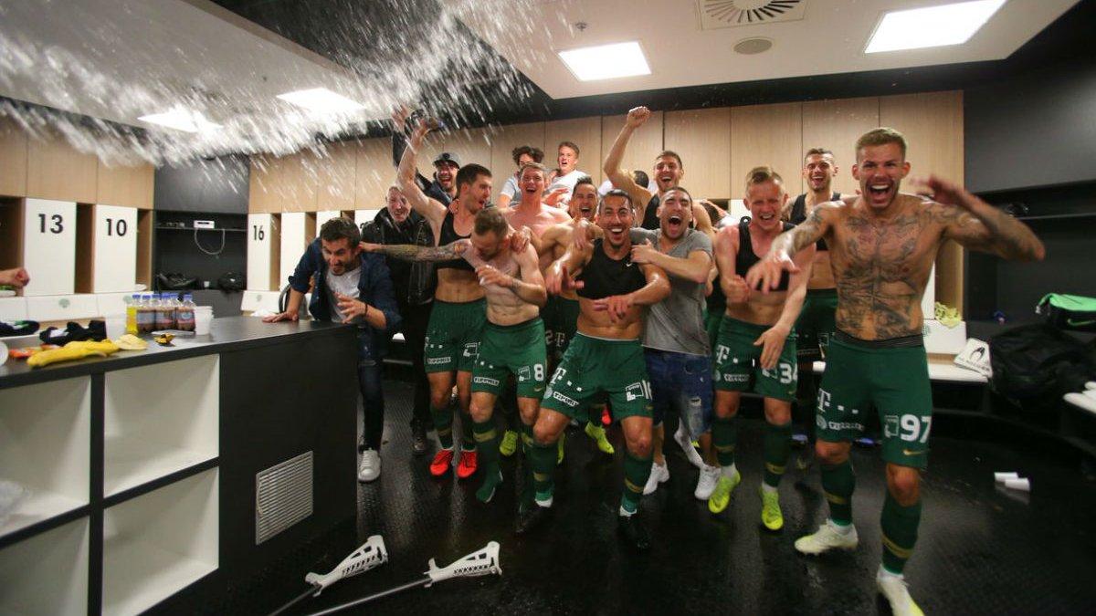 Ребров, Петряк и Харатин стали чемпионами Венгрии с Ференцварошем