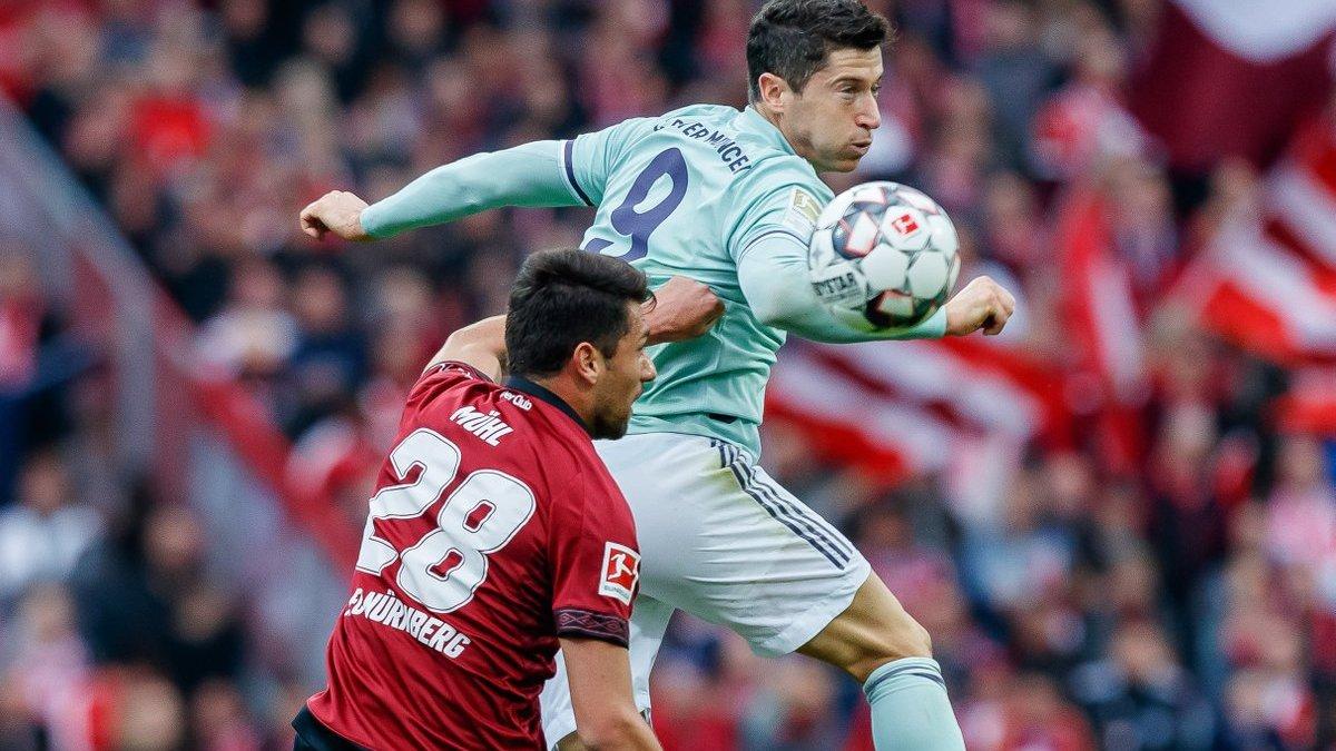 Нюрнберг – Бавария – 1:1 – видео голов и обзор матча