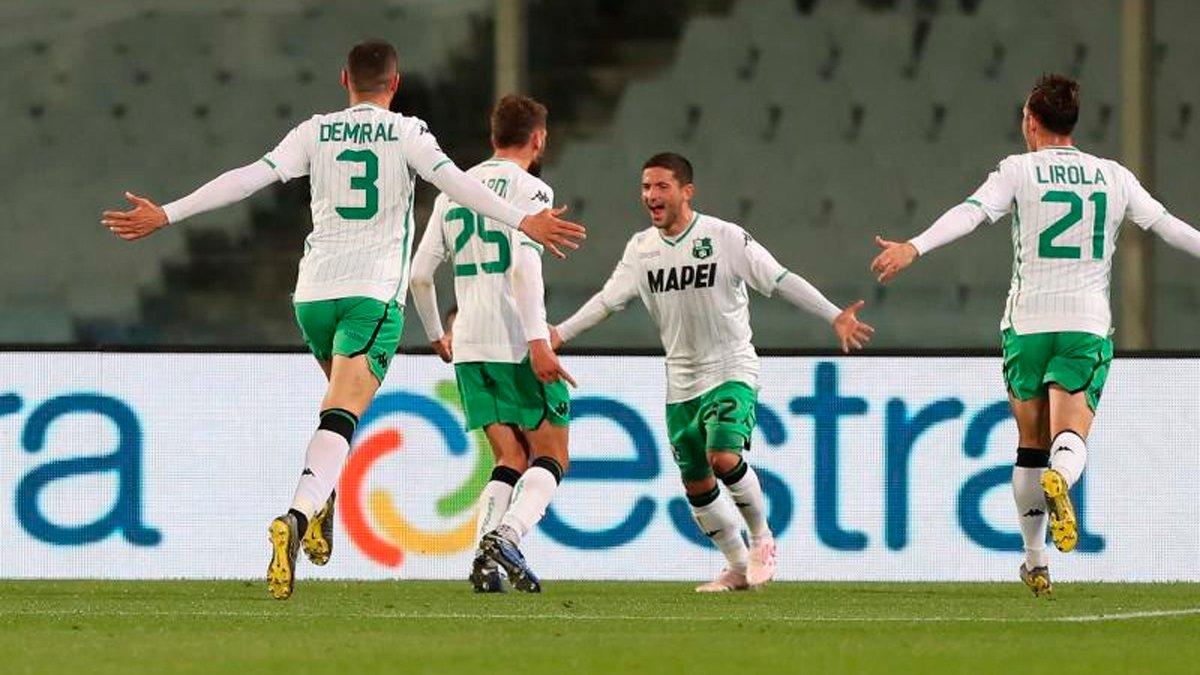 Сассуоло втримав мінімальну виїзну перемогу над Фіорентиною: 34-й тур Серії А, матчі понеділка