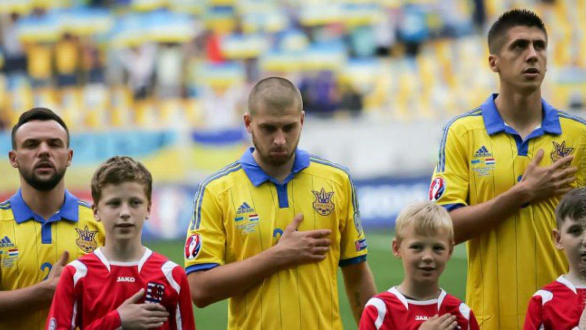 Пятов рассказал, почему Ракицкий не пел гимн Украины