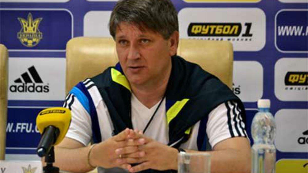Ковалець пригадав перший матч в історії збірної України