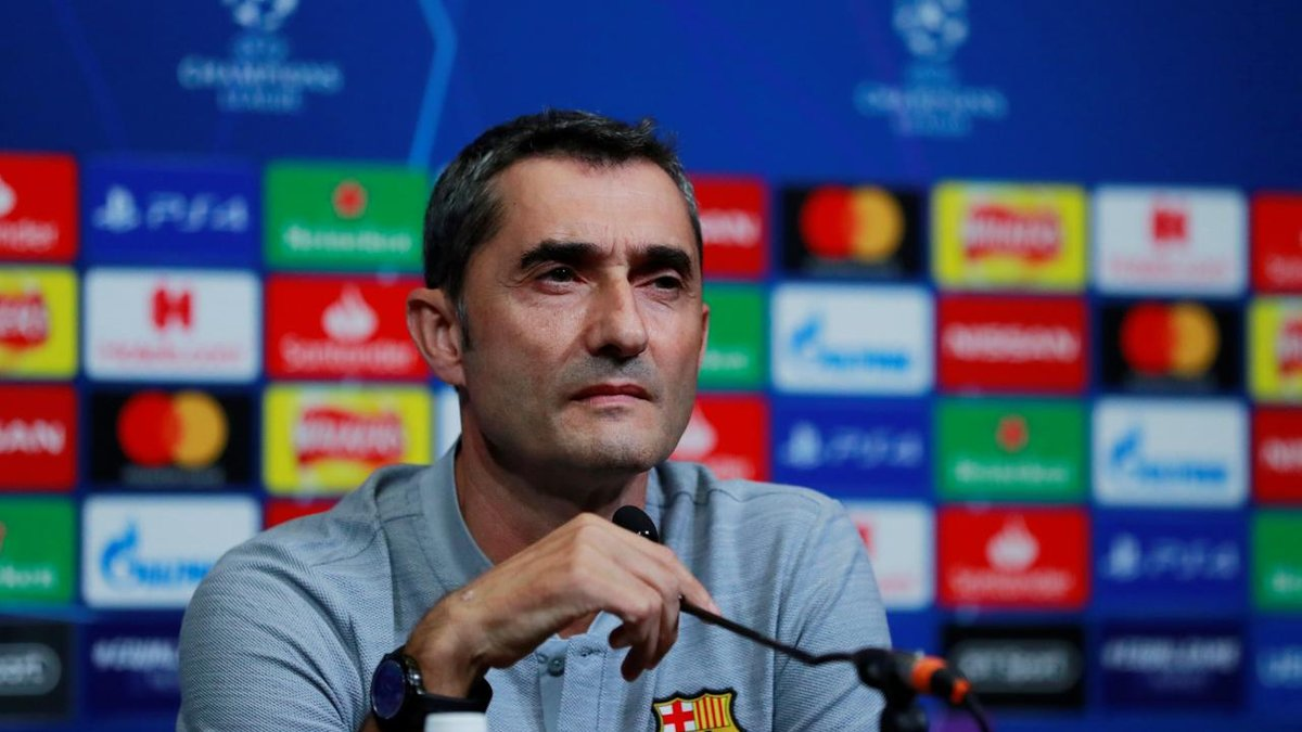 Барселона – Ліверпуль: передматчева прес-конференція Ернесто Вальверде