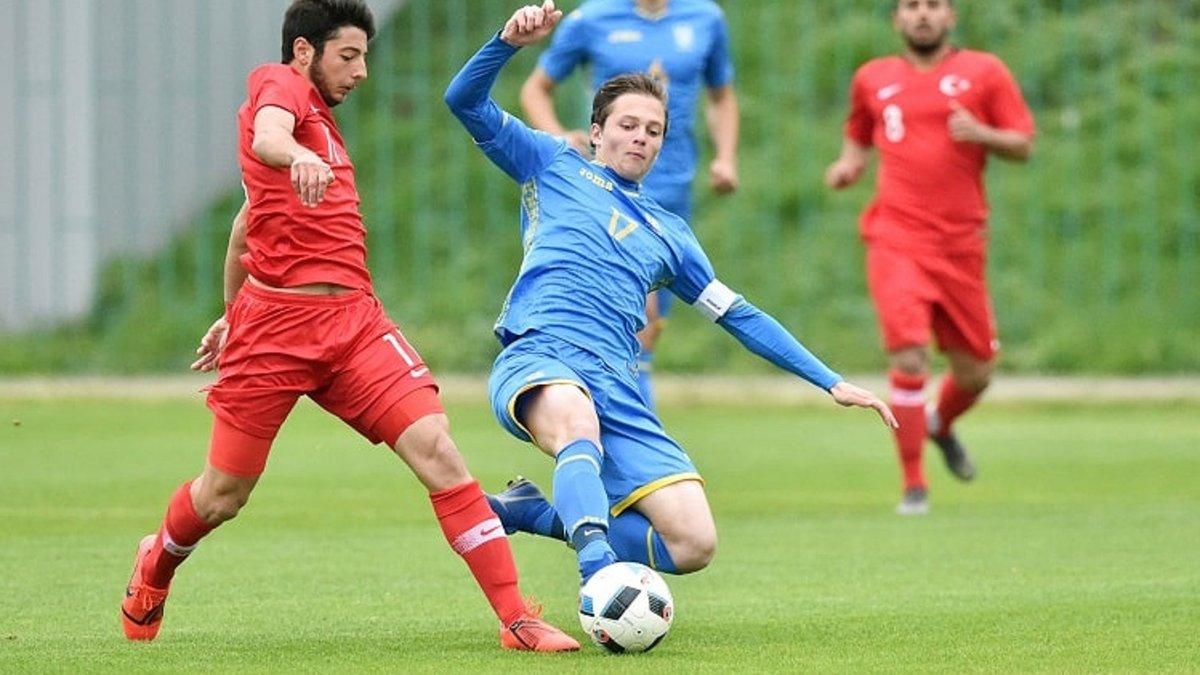 Збірна України U-18 здолала Туреччину в спарингу