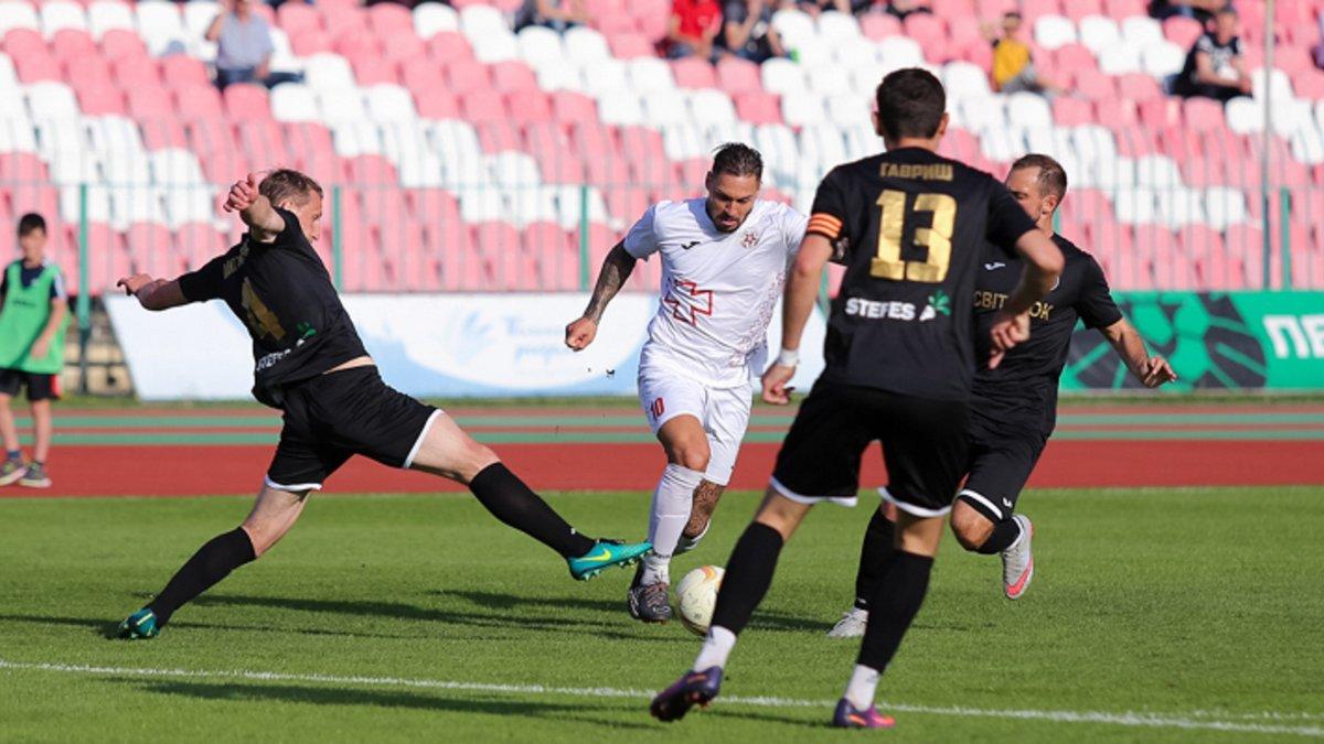 СК Днепр-1 поднялся в УПЛ, победа Волыни над Колосом определила триумфатора Первой лиги