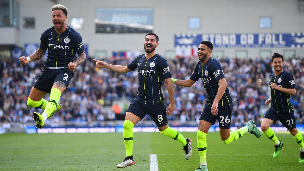 Брайтон – Манчестер Сити – 1:4 –  видео голов и обзор матча