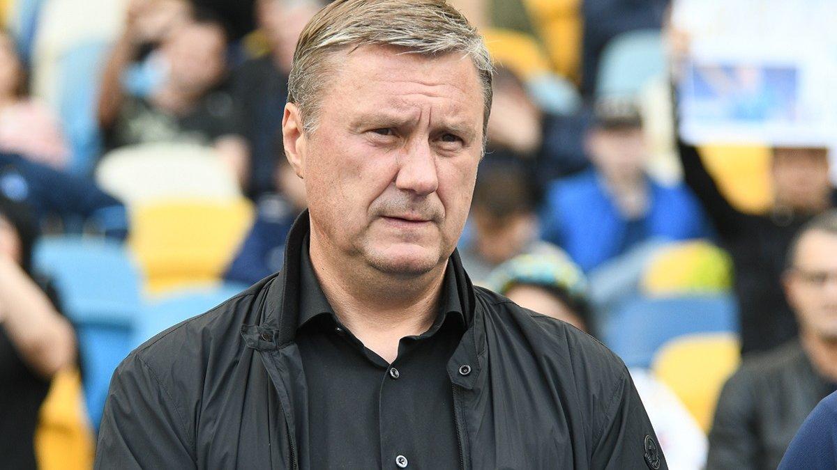Хацкевич: Для борьбы за чемпионство Динамо нужно усиление