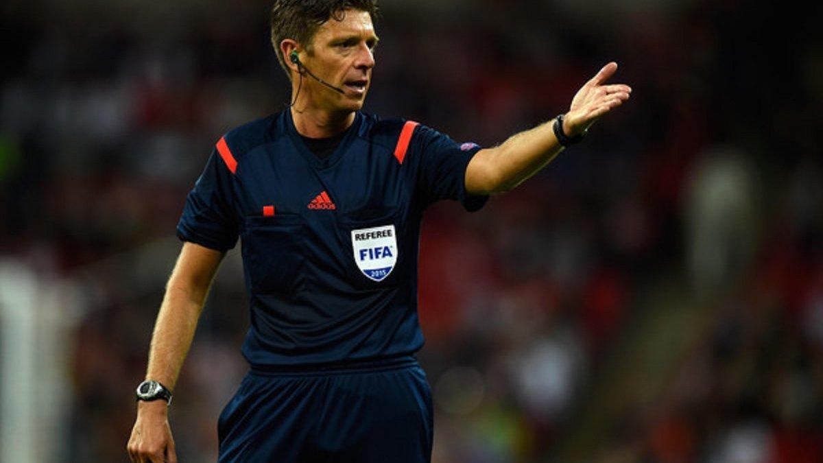 Финал Лиги Европы будет судить итальянский арбитр