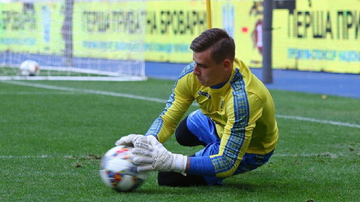 Лунін 20 травня приєднається до збірної України U-20, – Петраков