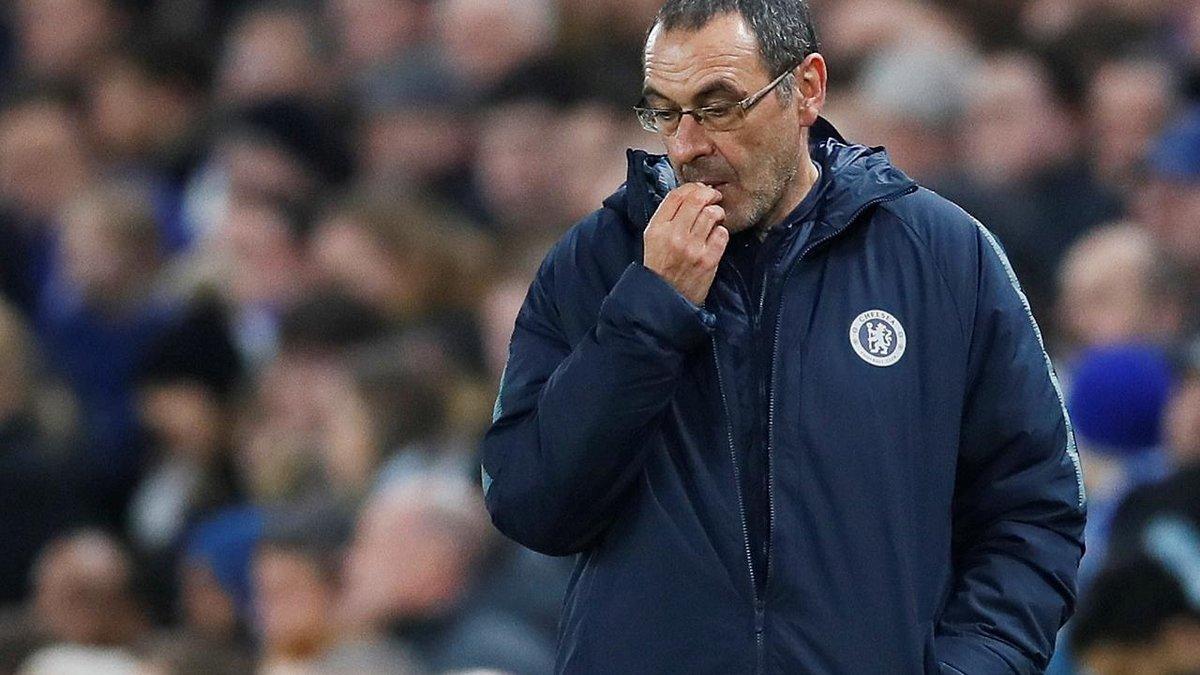 Абрамович может уволить Сарри даже в случае победы в Лиге Европы
