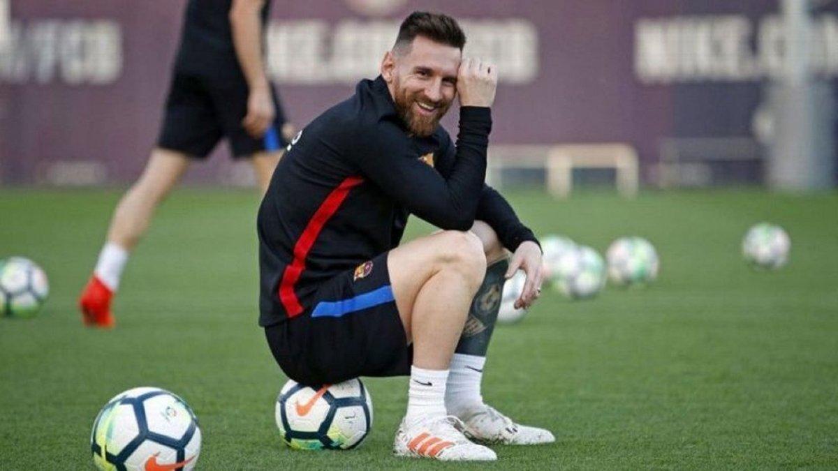 Тренировка глазами Месси: Барселона опубликовала впечатляющее видео, прикрепив камеру на аргентинца