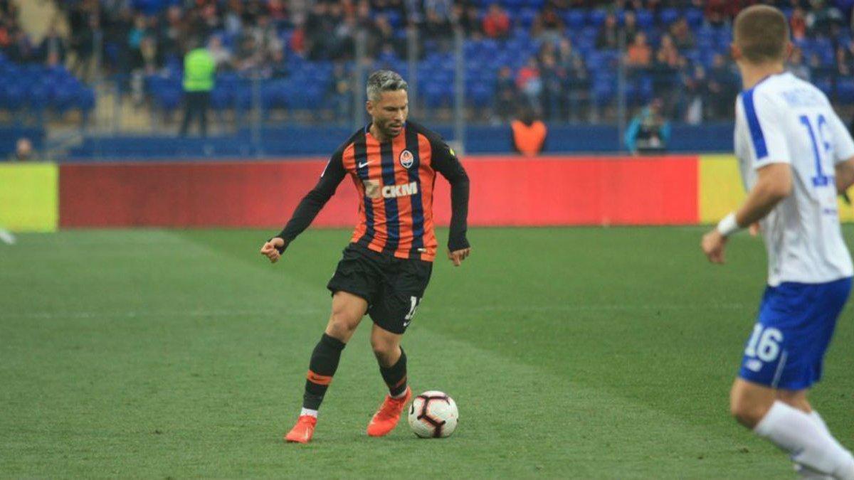 Марлос стал лучшим футболистом Украины 2018