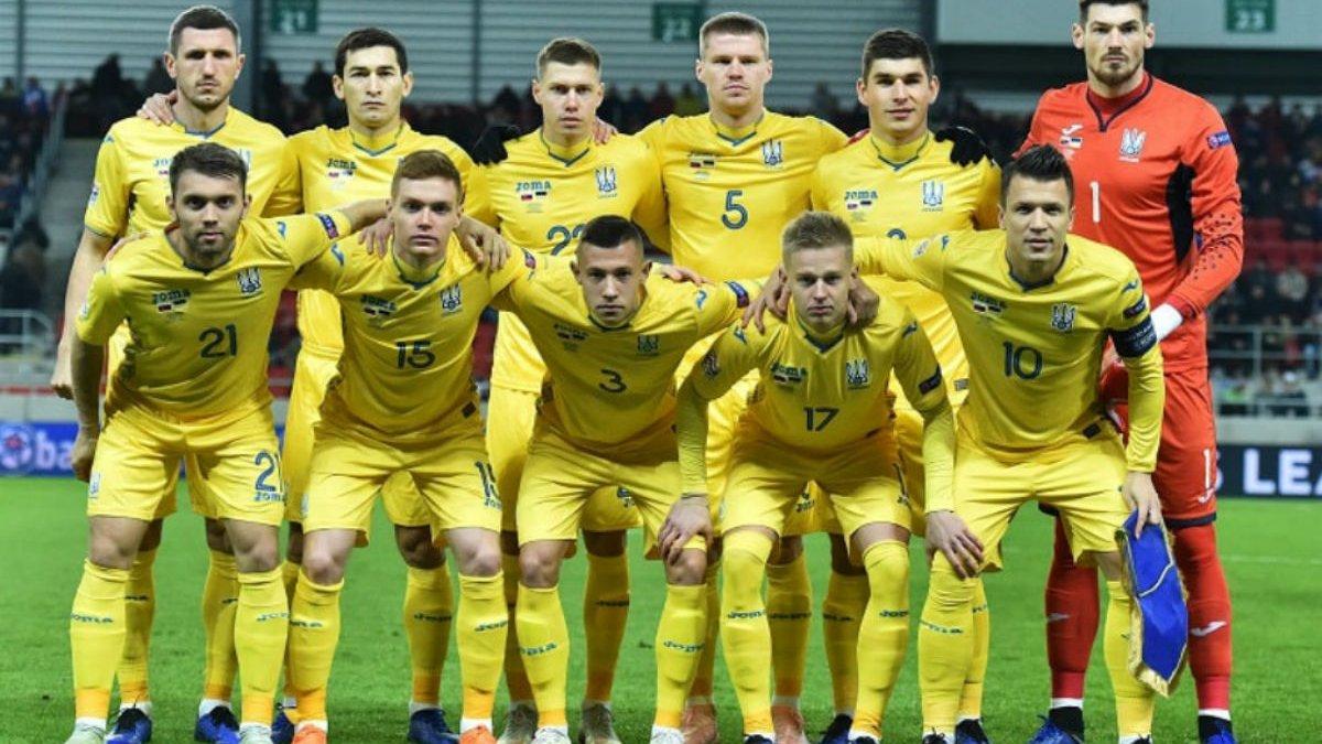 Сборная Украины может сыграть в Запорожье