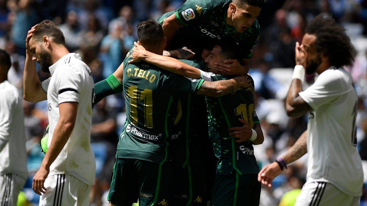 Реал – Бетис – 0:2 – видео голов и обзор матча