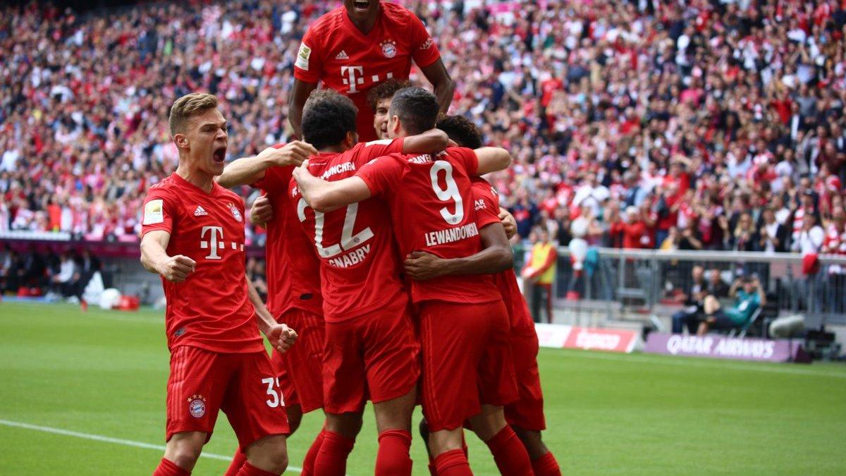 Баварія розгромила Айнтрахт і стала чемпіоном Німеччини, Байєр потрапив у Лігу чемпіонів