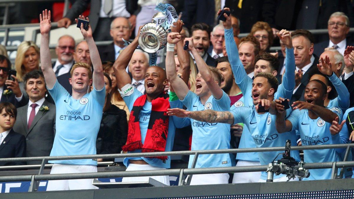"""Манчестер Сити – Уотфорд: Зинченко – обладатель Кубка Англии, но финал провел бледно, историческое достижение """"горожан"""""""