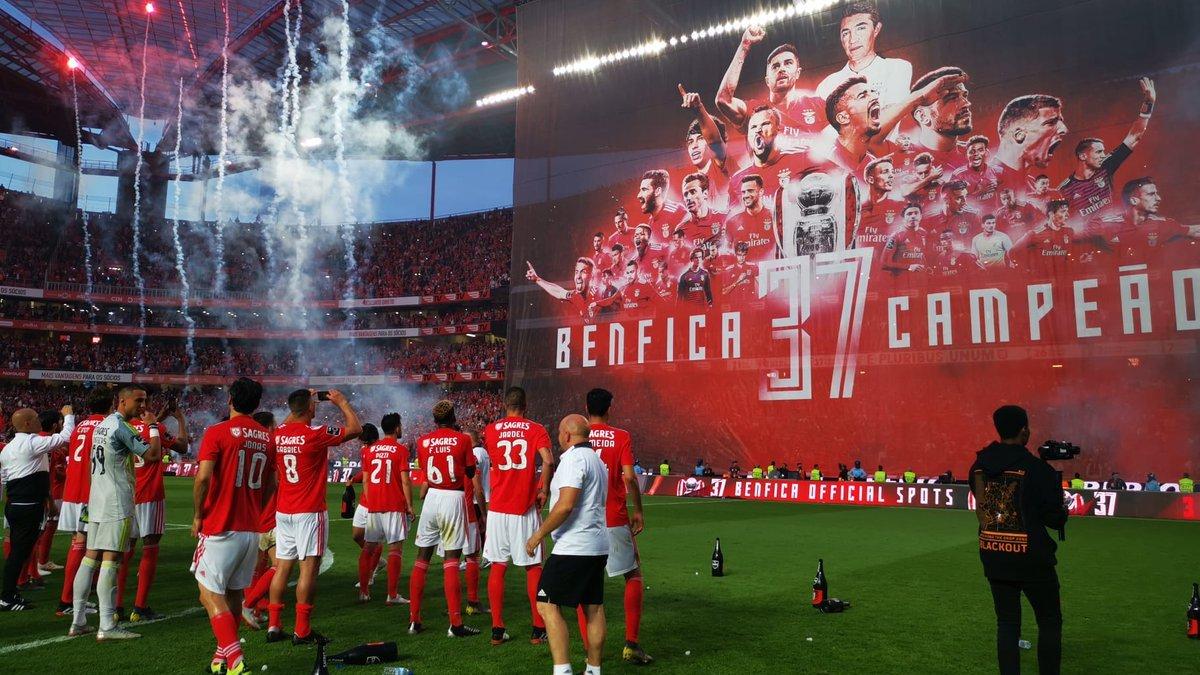 Бенфіка виграла чемпіонат Португалії у 37-й раз
