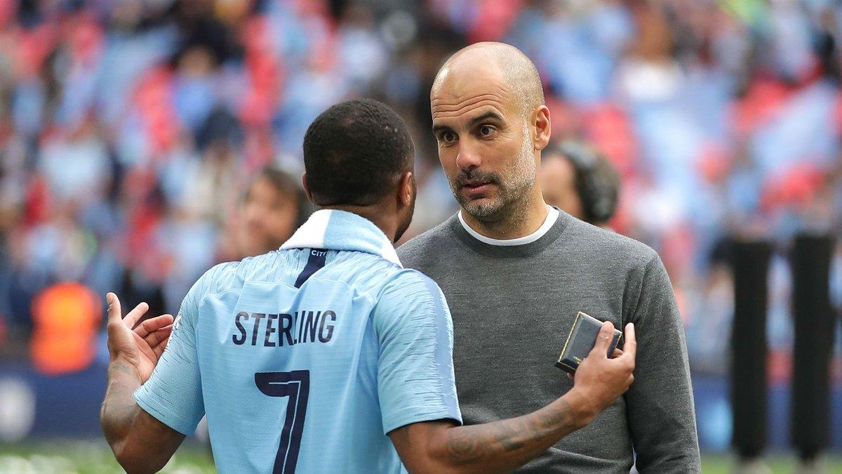 Гвардиола отчитал Стерлинга после триумфа в Кубке Англии – вингер оформил дубль и отдал ассист