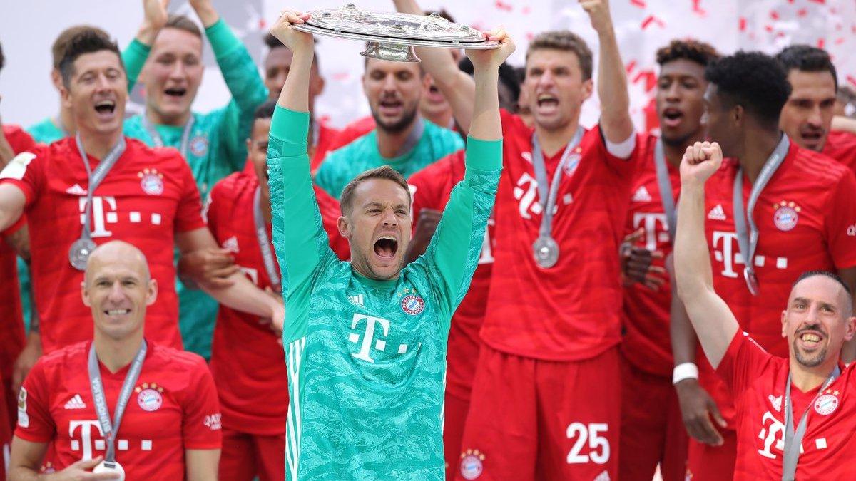 Триумф Баварии в Бундеслиге сделал сезон 2018/19 уникальным для топ-5 лиг Европы