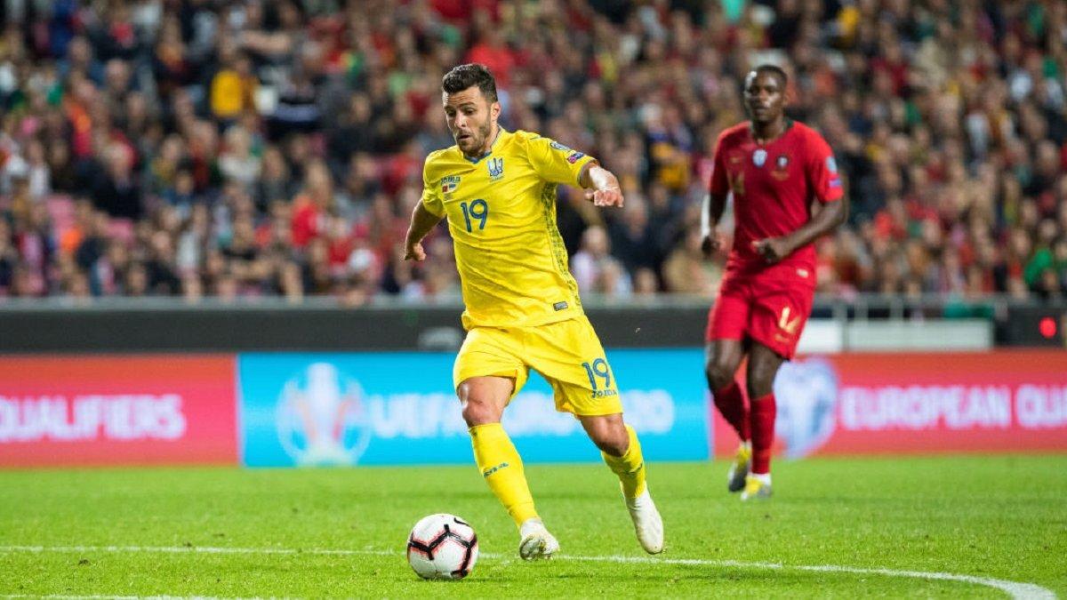 Мораєс: Грати за збірну України – неймовірно складне рішення