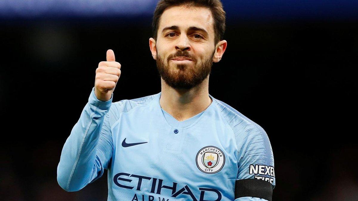 Бернарду Силва стал лучшим игроком сезона в Манчестер Сити