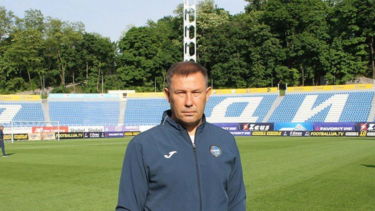 Тренер Олімпіка Климовський: Нам не вдалось реалізувати задумане у грі з Арсеналом-Київ