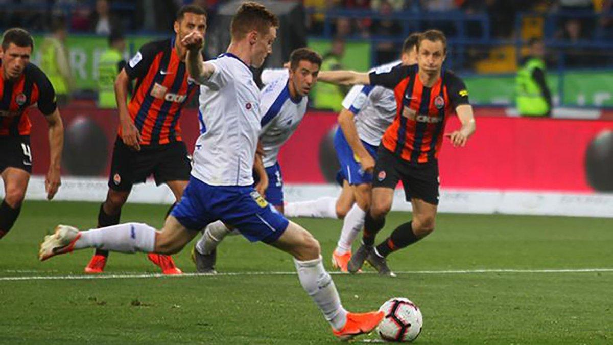 Динамо встановило цікавий рекорд сезону в матчі проти Шахтаря