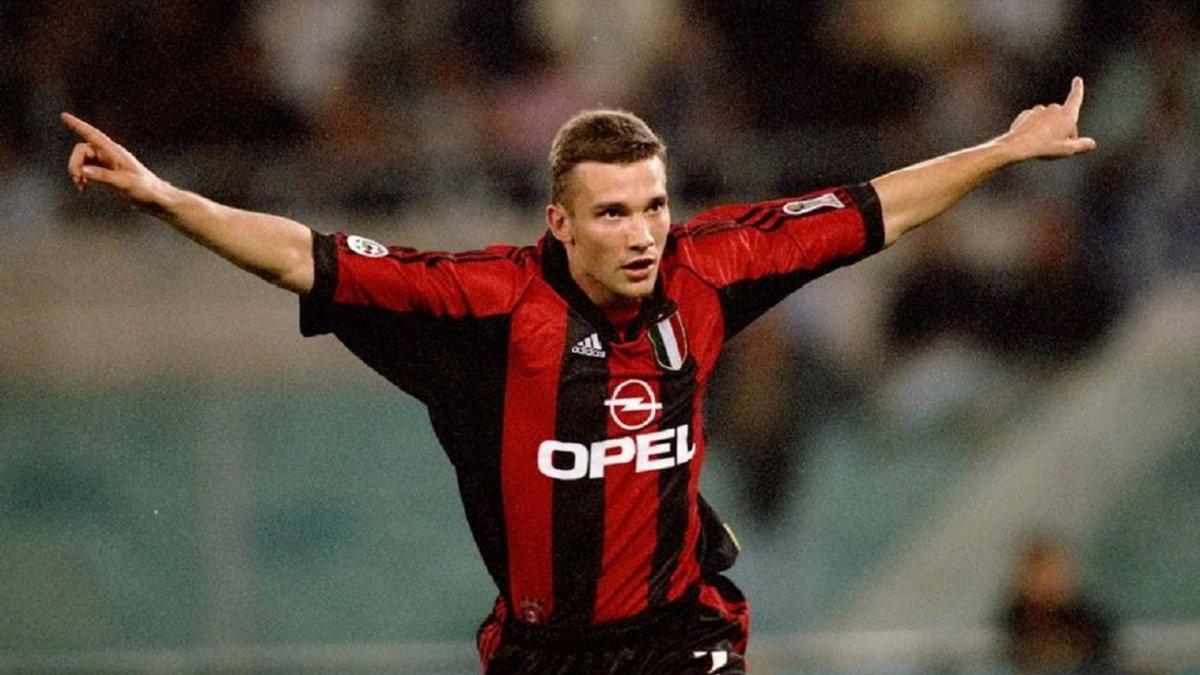 Милан подарил Шевченко новый комплект формы клуба