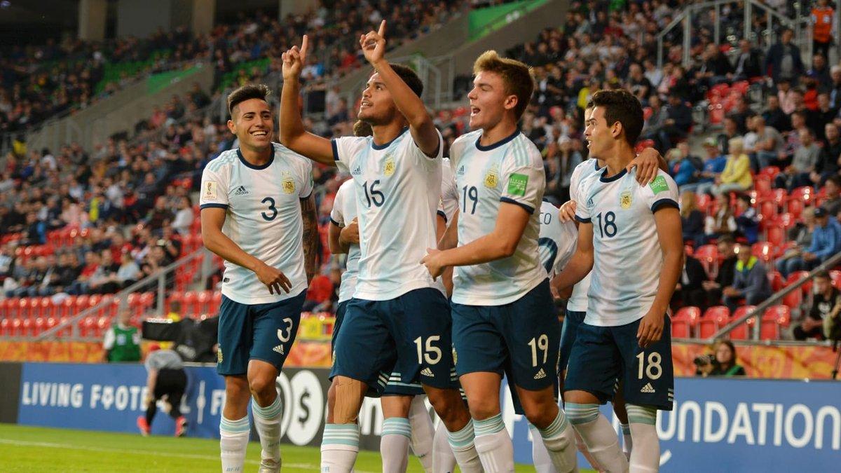 ЧС-2019 U-20: Аргентина розгромила ПАР, Франція у більшості перемогла Саудівську Аравію