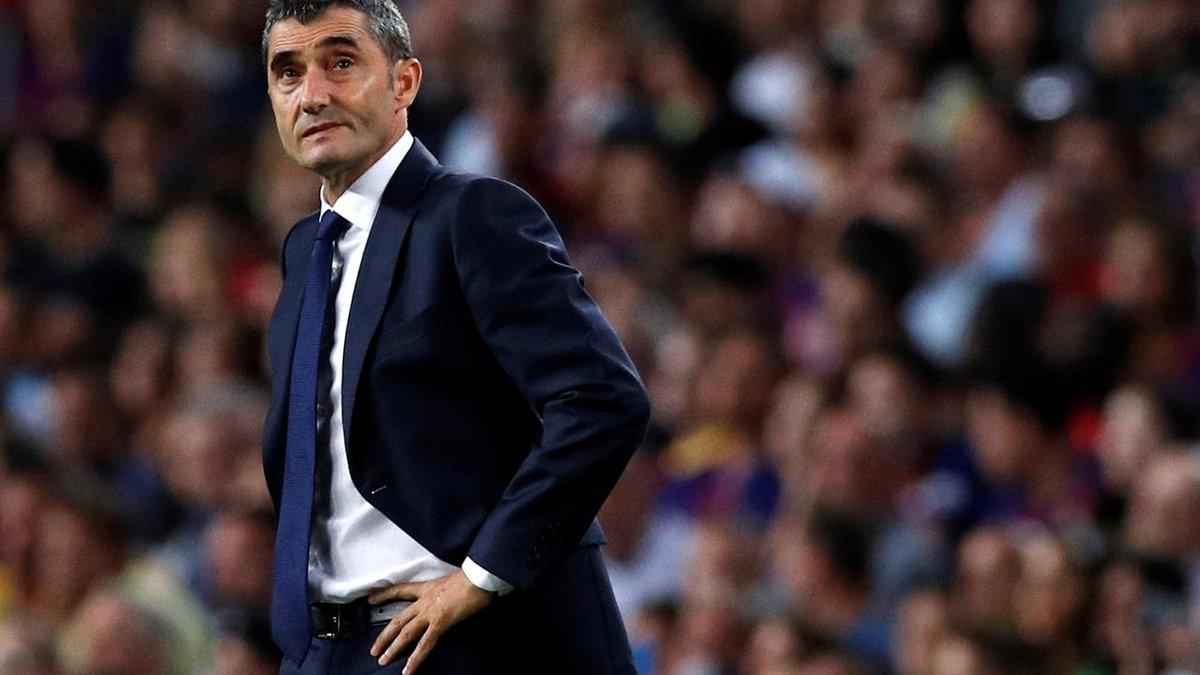 """""""Я хочу продовжити роботу з Барселоною"""", – Вальверде після поразки у фіналі Кубка Іспанії"""