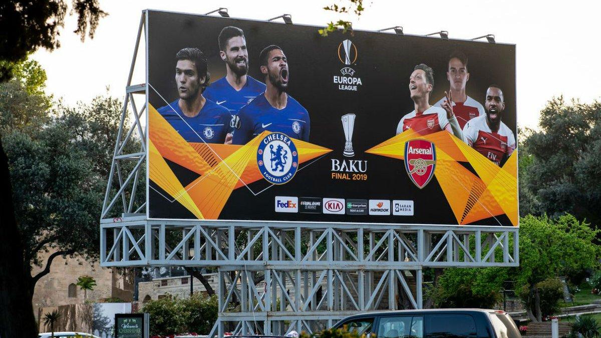 Челсі – Арсенал: де дивитись фінал Ліги Європи 2018/19