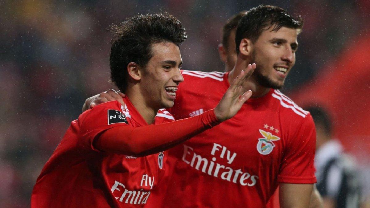 Атлетико хочет приобрести двух звезд Бенфики и Семеду