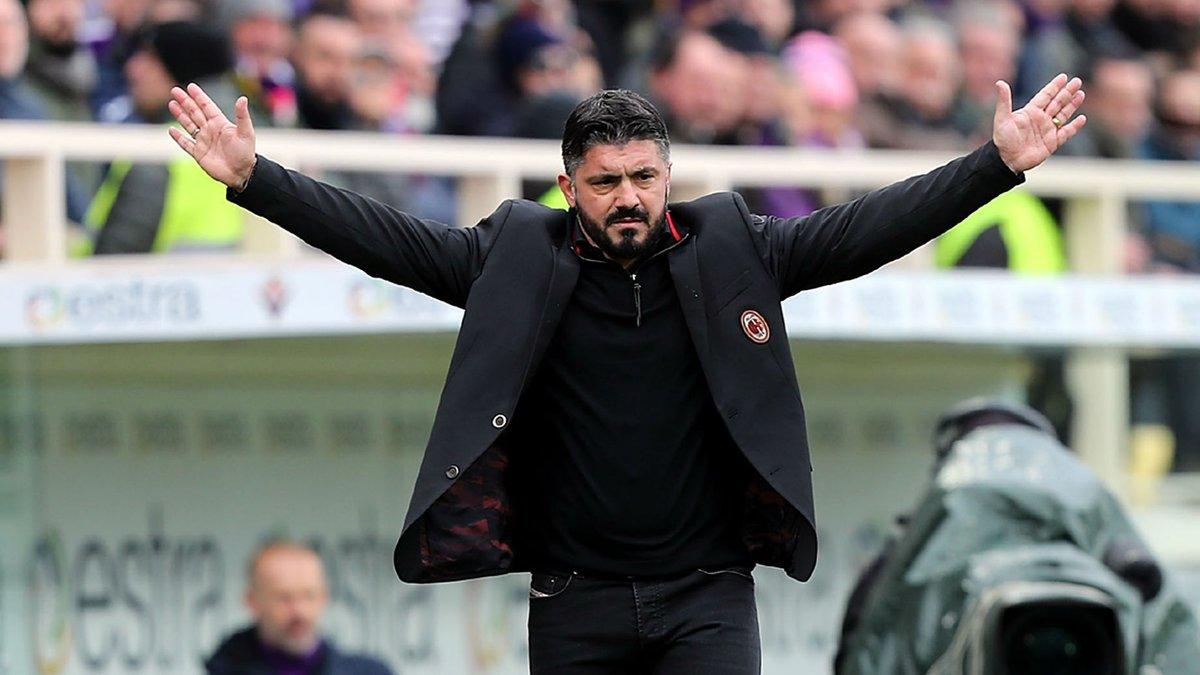 Гаттузо подав у відставку з посади головного тренера Мілана та відмовився від зарплати за два роки контракту