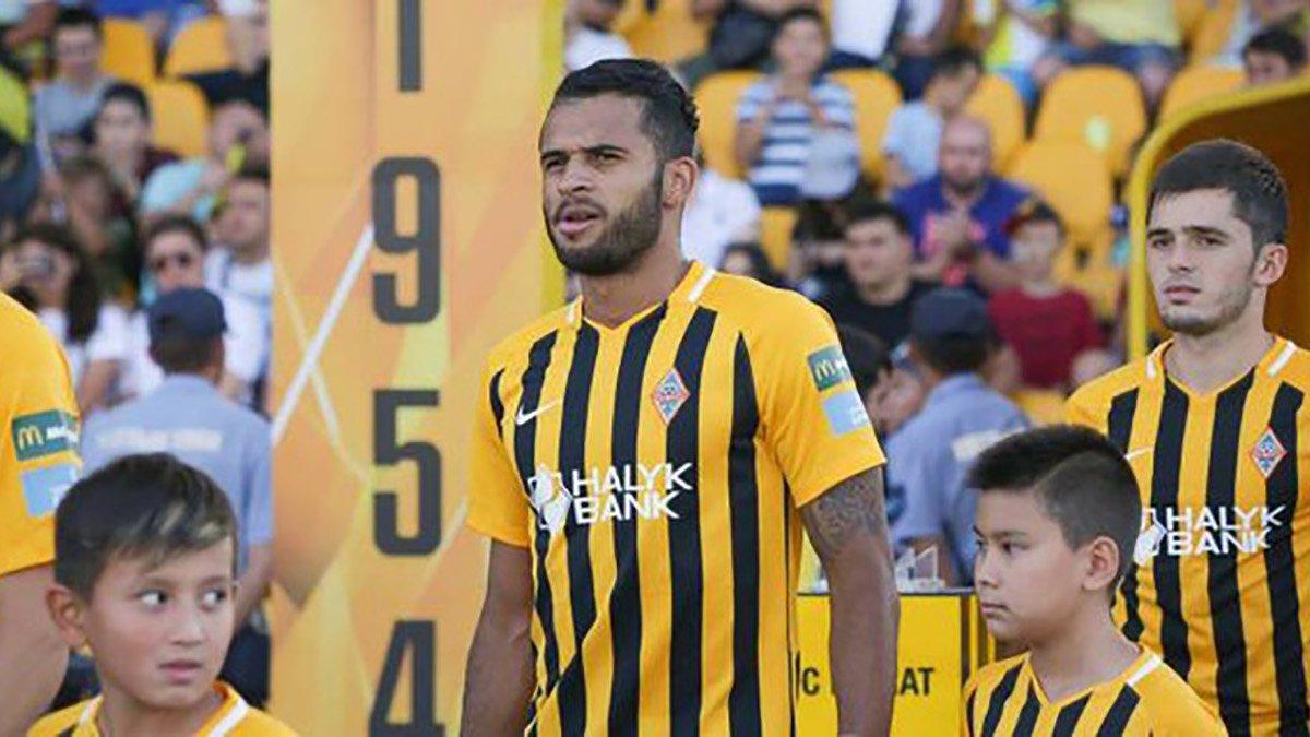 Есеола вдруге поспіль потрапив до збірної туру казахської Прем'єр-ліги