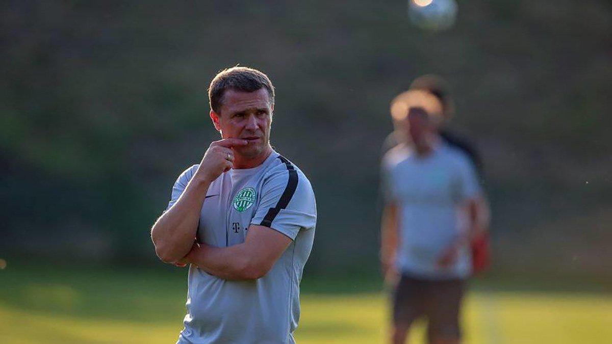 Ребров планирует продолжить карьеру в Ференцвароше, – Варга