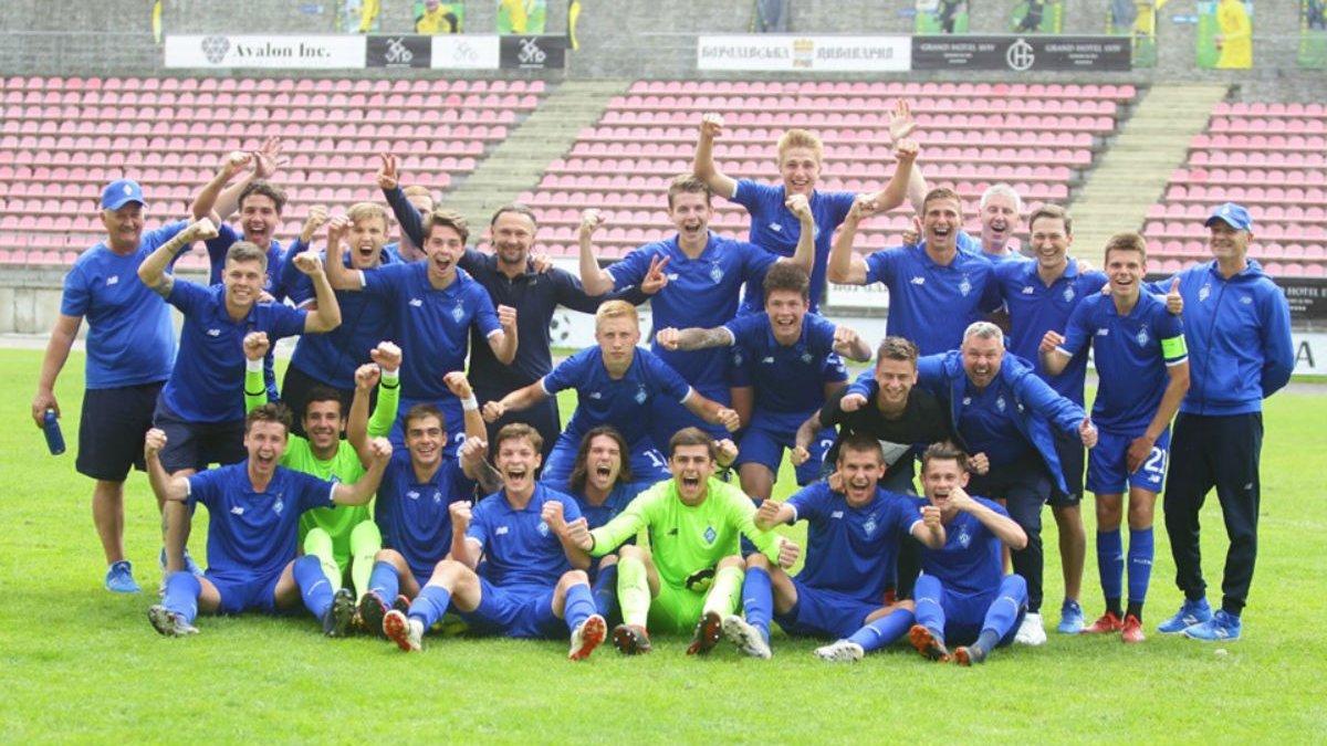 Динамо U-19 в пятый раз стал чемпионом Украины
