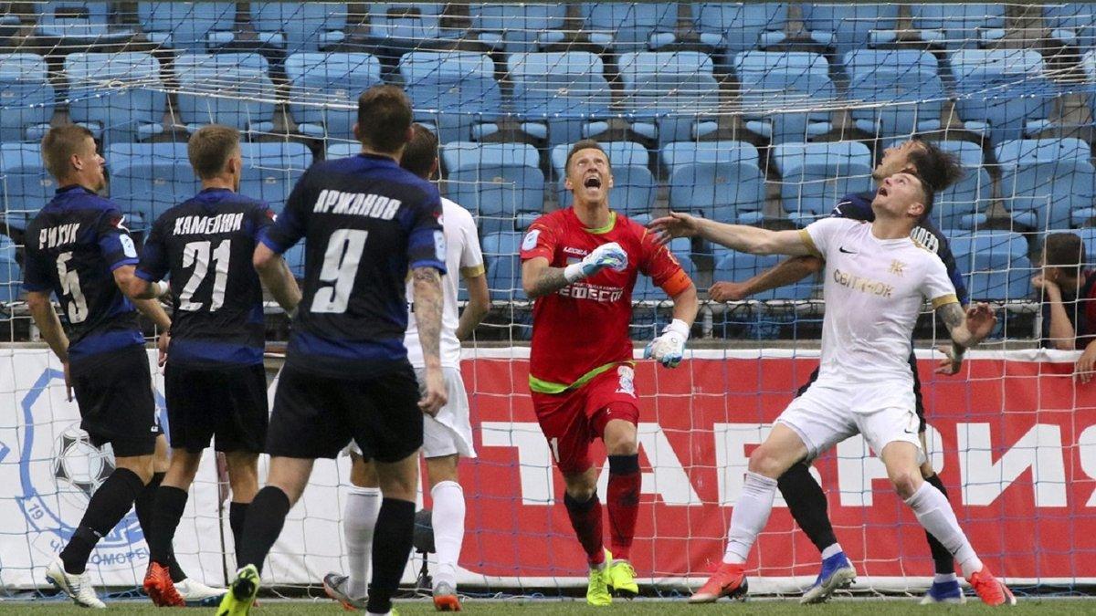 Три пенальті Колоса у відеоогляді матчу за місце в УПЛ із Чорноморцем