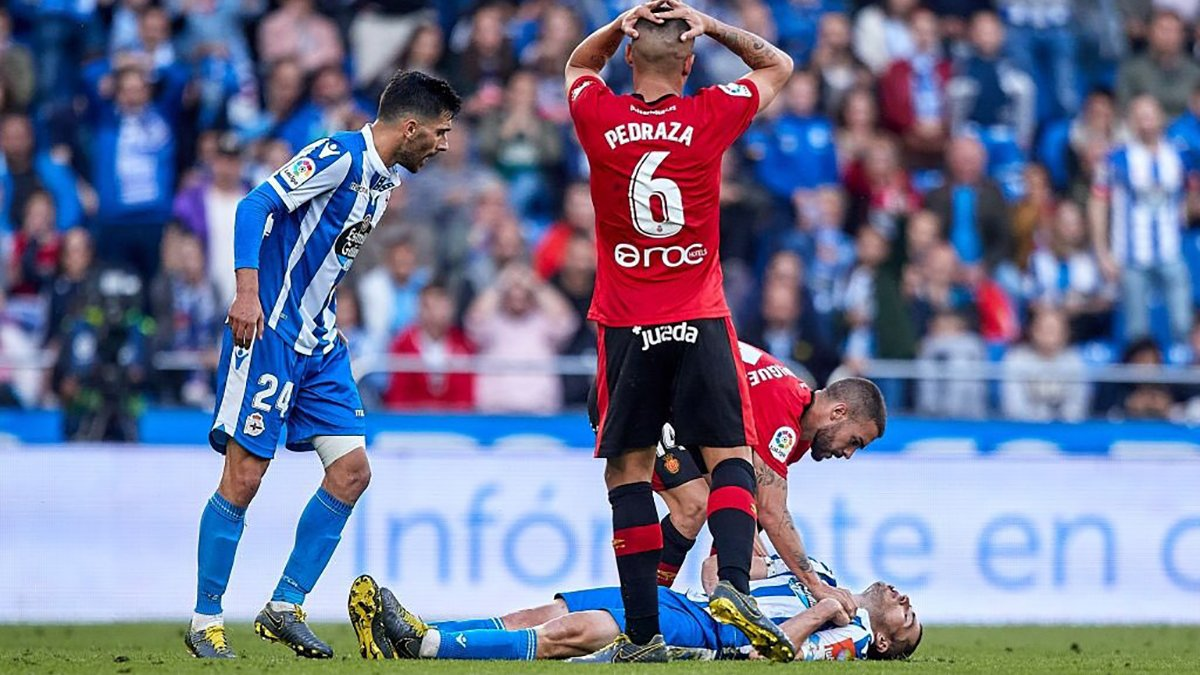 Жуткий фол в чемпионате Испании – удаленный Педраса начал плакать от страха